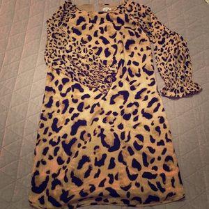 Crown & Ivy leopard print dress
